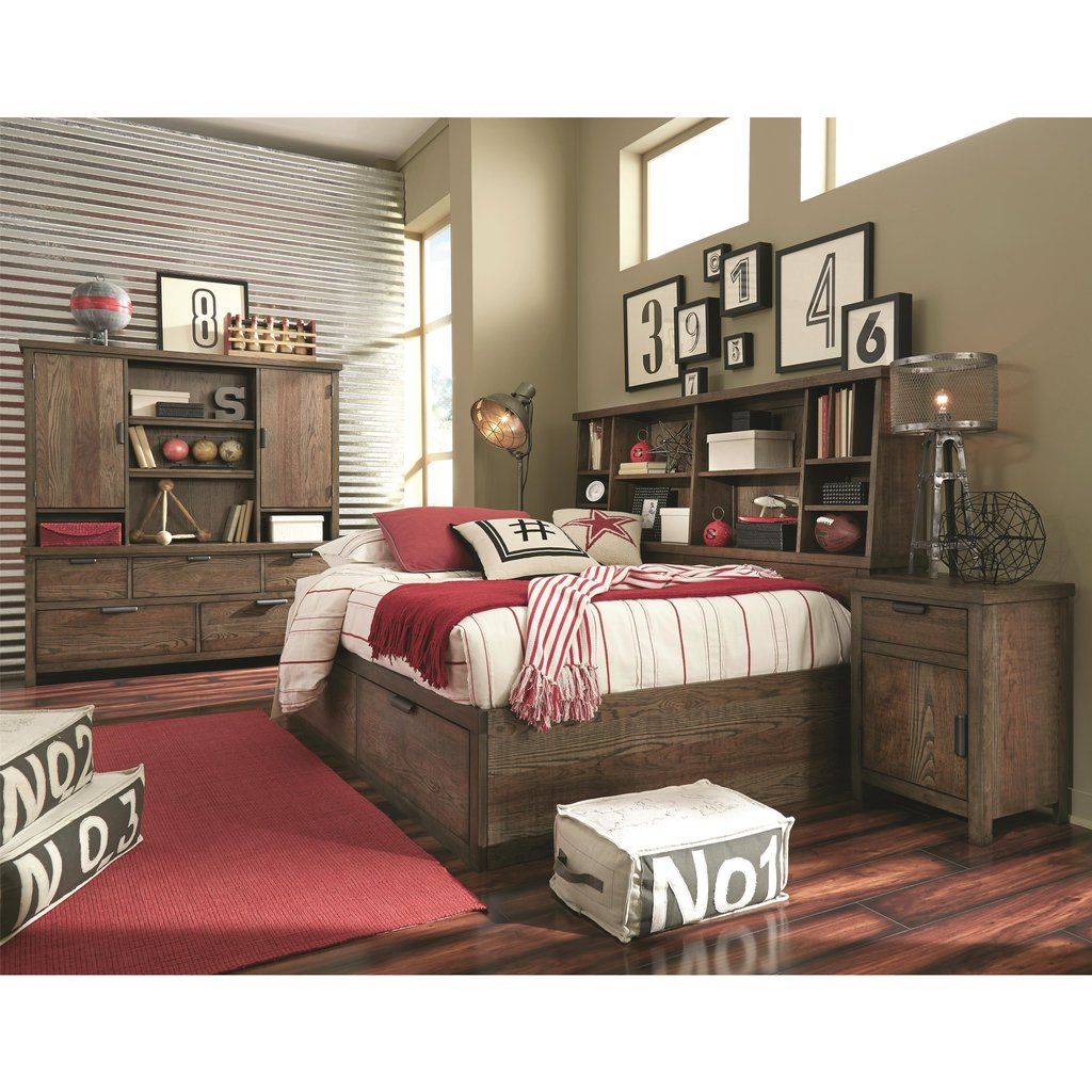 Legacy Classic Kid Fulton County Full Bookcase Lounge Bed How Make Queen Bookcase Headboard