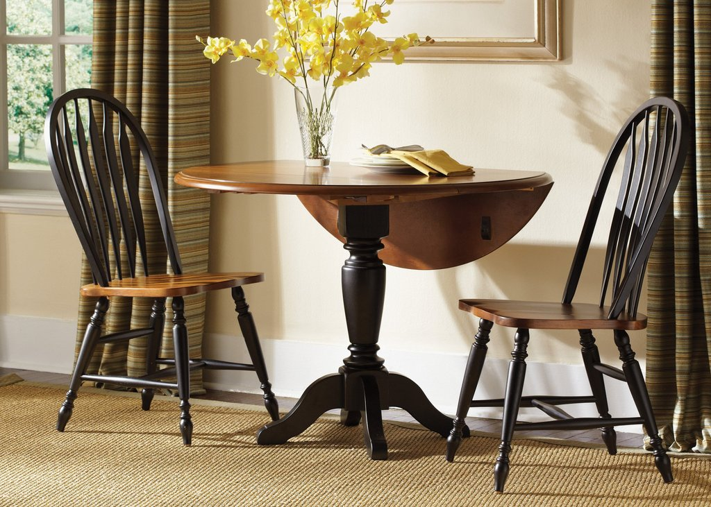 Liberty Furniture Country Black 3 Pc Drop Leaf Table Making An Drop Leaf Kitchen Table
