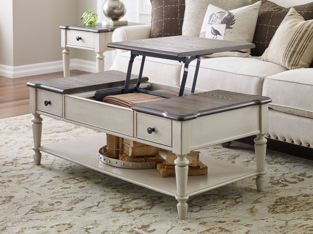 Lift Top Cocktail Table Ql6400401 A Unique Square Lift Top Coffee Table