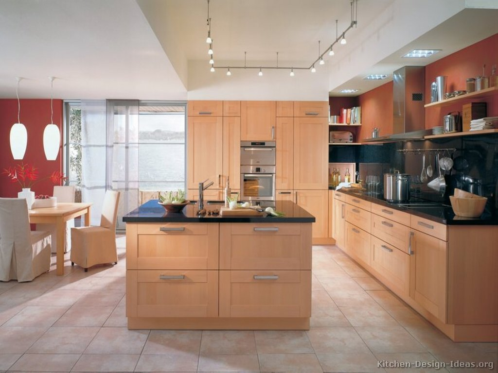 Light Wood Kitchens Kitchen Wall Color Red Kitchen Wall Staining Kitchen Cabinets Ideas