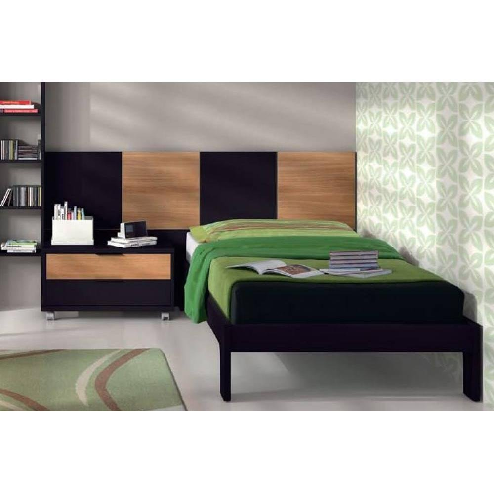 Lit Simple Design Lit Double Simple 160 200 San Padded Headboard Ideas
