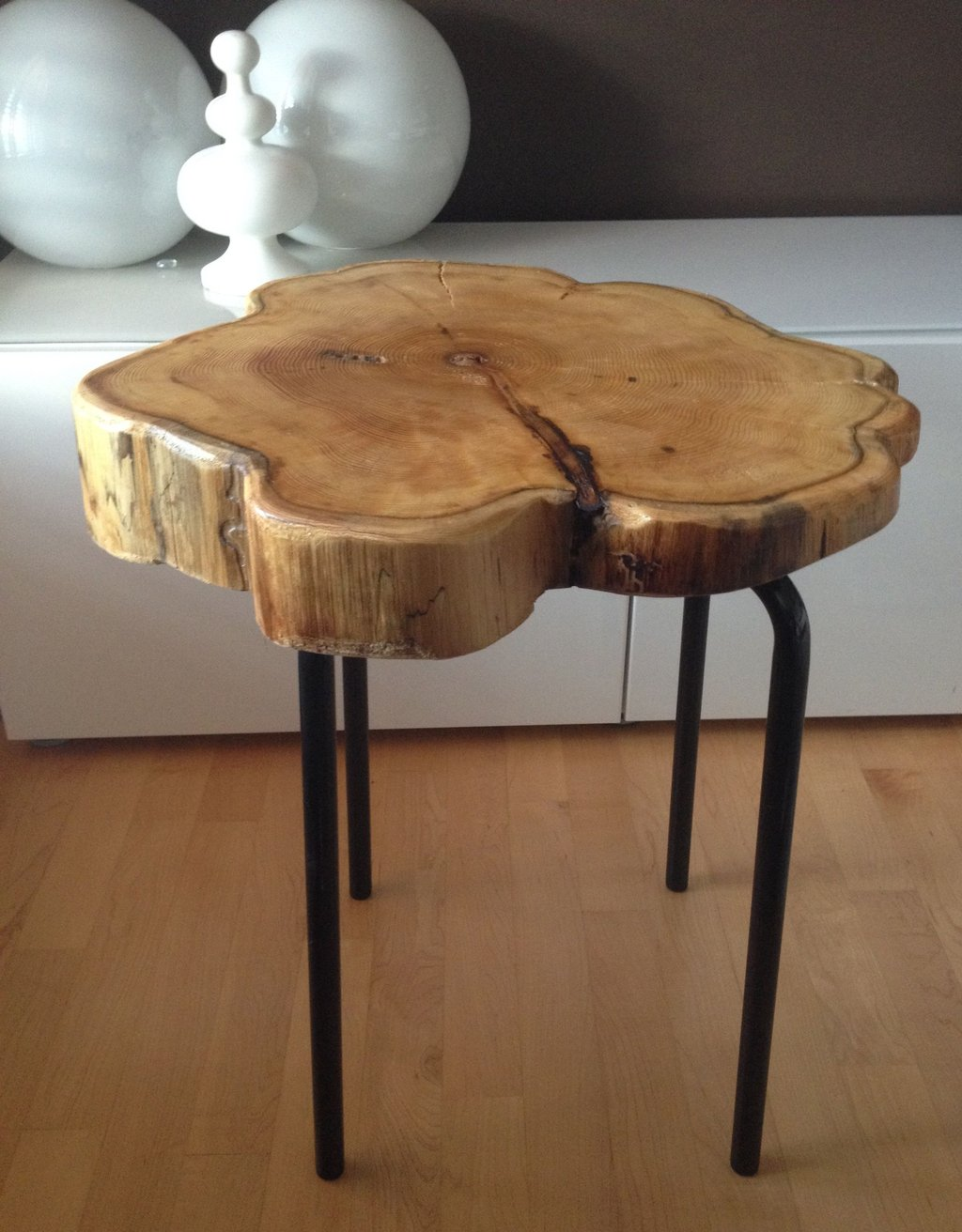 Live Edge Table Hairpin Legs Live Edge Coffee Table Making Tree Stump Coffee Table