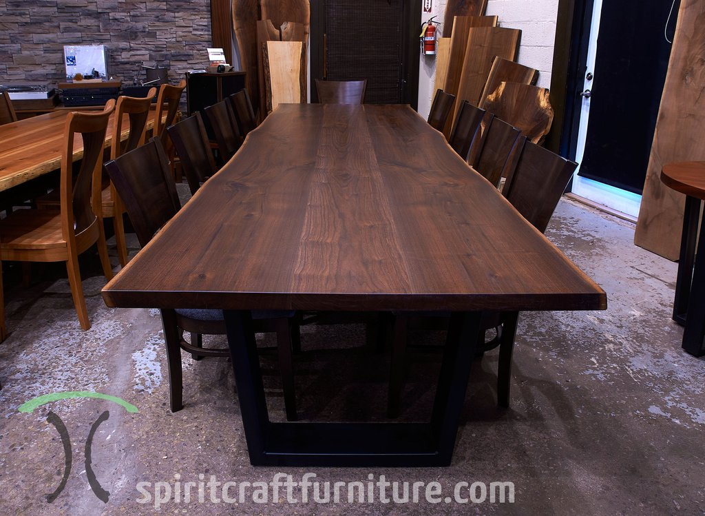 Live Edge Wood Slab Conference Room Table Desk Top Restaurant Table Tops Plan