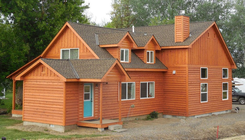 Log Home Restoration Strip Stain Seal Service Popular Paint Of Wood Siding Types