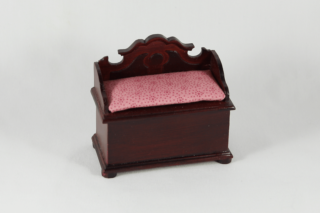 Mahogany Pink Toy Box Dollhouse Alley How To Convert Changing Table Dresser