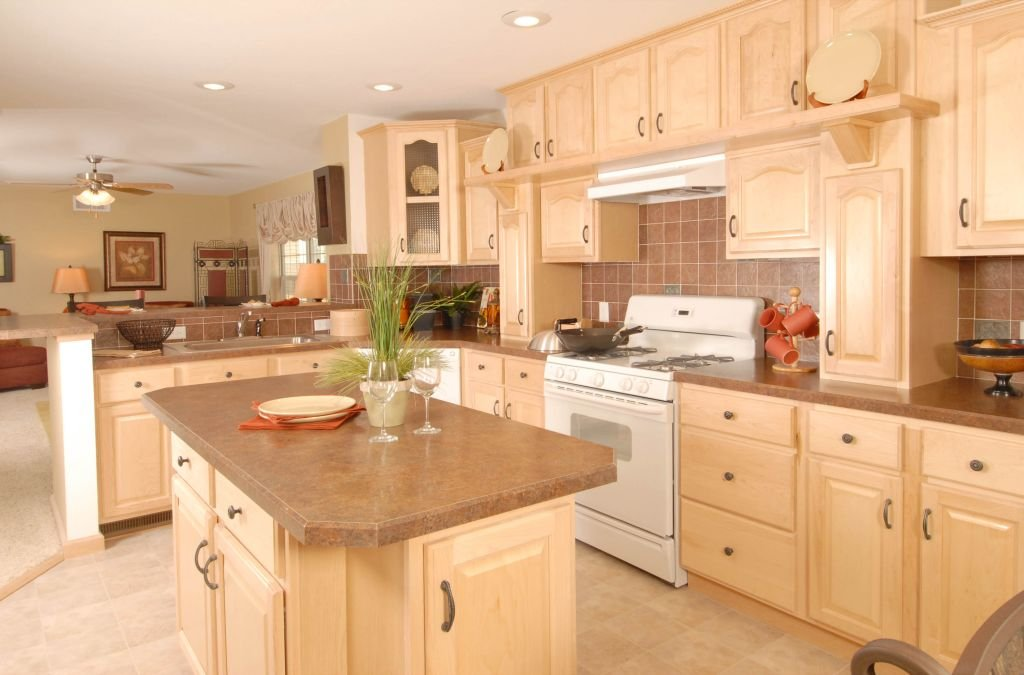 Rustic Maple Kitchen Cabinets - Loccie Better Homes ... on Maple Cabinet Kitchen Ideas  id=66463