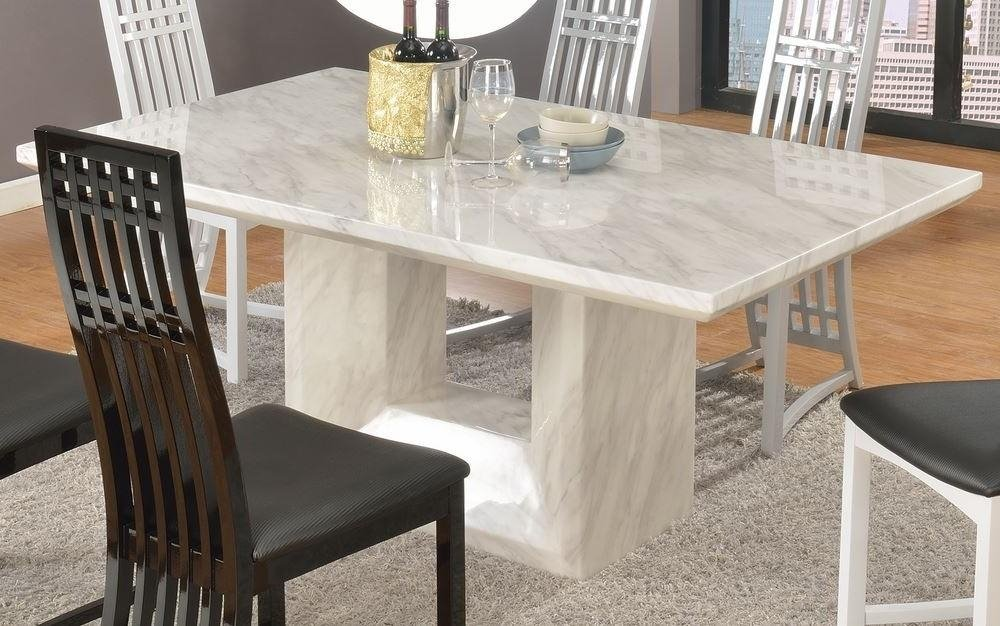 Marble Effect Dining Table Chair Dining Room Idea The Round Marble Dining Table
