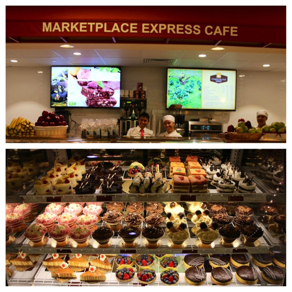 Market Place Express Open 24 Hour Grab Restaurant Table Tops Plan
