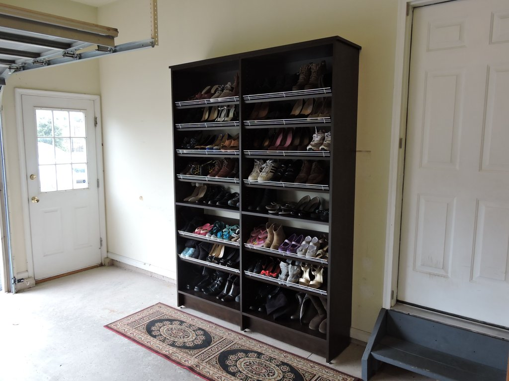Marvelou Garage Shoe Storage Design Idea Decofurnish Wooden Shoe Racks Idea