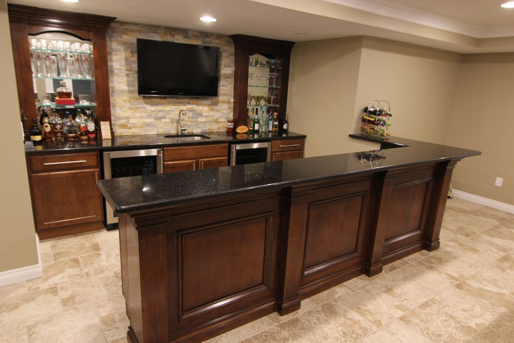 Merillat Classic Basement Bar Designed Man Kitchen The Importance Of Good Deep Kitchen Sinks