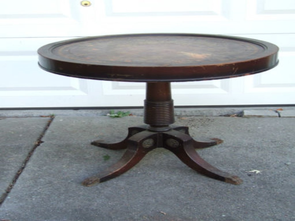 Metal Coffee Table Antique Drum Table Claw Antique Of Reclaimed Wood Coffee Tables