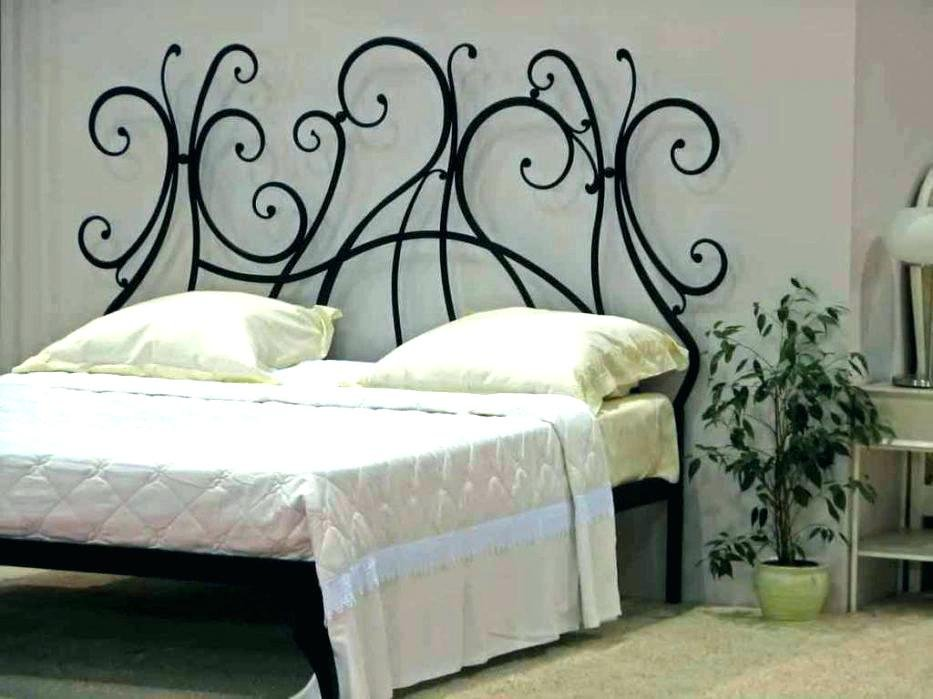 Metal Headboard Full Iron White Metal Headboard Full Paint On Iron Headboard