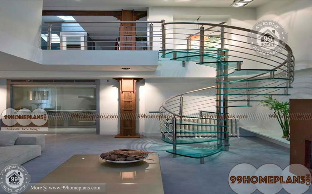 Metal Spiral Stair Design Stylish Home Outdoor Wooden Spiral Staircase