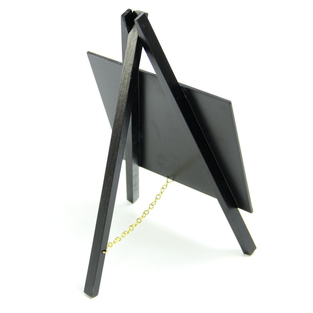 Mini Black Easel Pack 3 Easel A Painter Table Top Easel