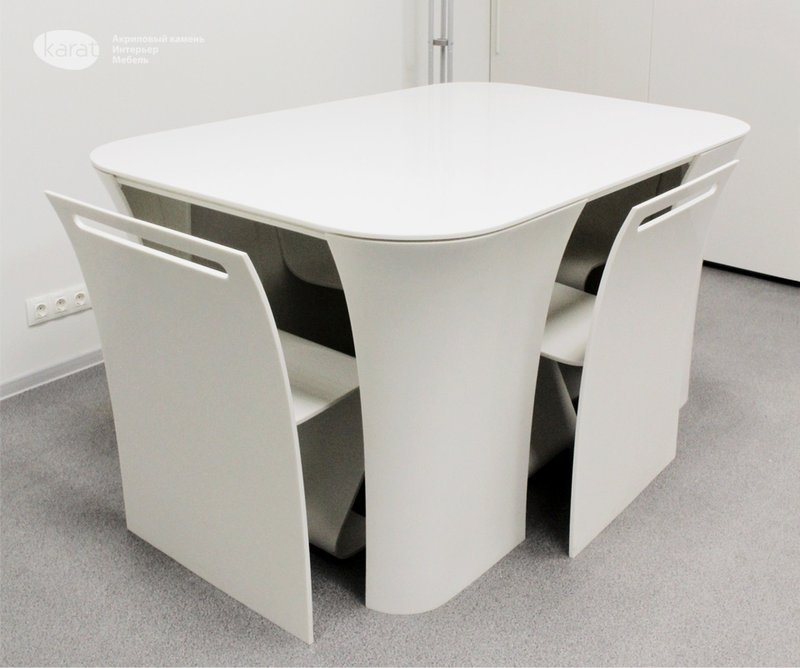 Modern Contemporary Table Hidden Chair Table 2 Round Dining Table With Leaf Butterfly