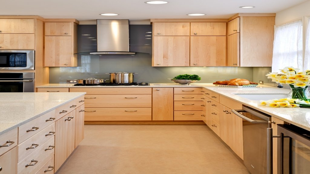 Modern Kitchen Burl Maple Maple Cabinet Wrought Rustic Maple Kitchen Cabinets