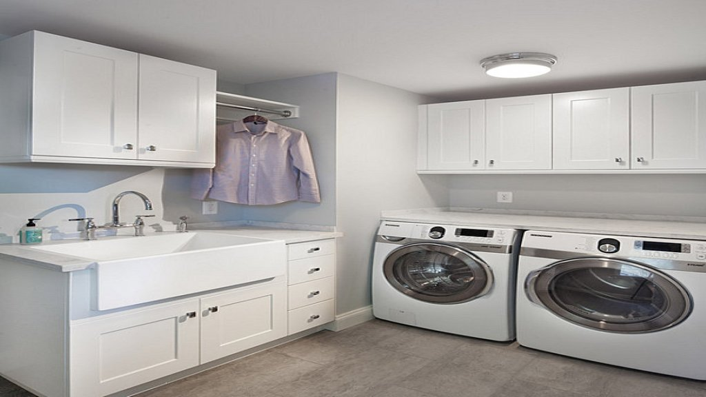 modern laundry room sinks | Requirements For Base Utility Sink Cabinet – Loccie Better ...