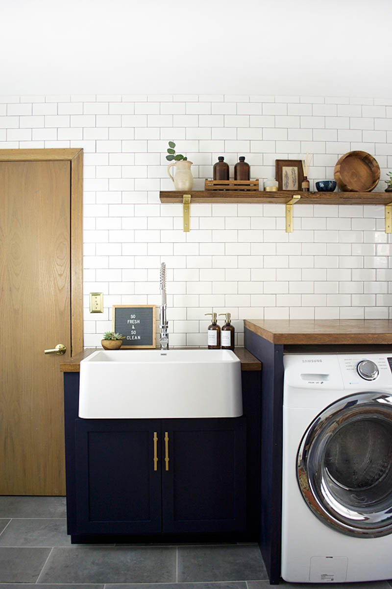 Modern Laundry Room Makeover The Importance Of Good Deep Kitchen Sinks