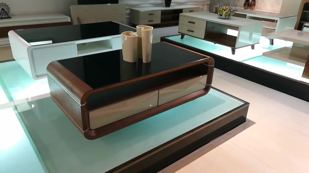 Modern Rectangular Black Glass Top Center Table Design A Unique Square Lift Top Coffee Table