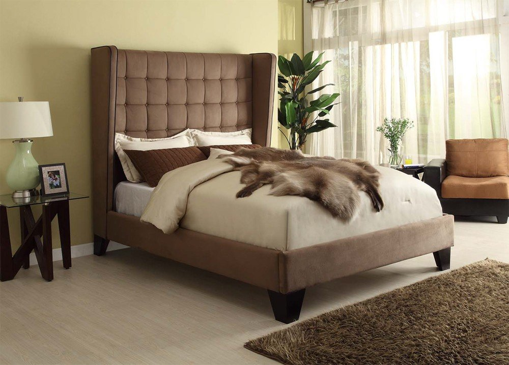Modern Upholstered Beds Gloriou Modern Upholstered Bed Ideas For A Twin Headboard For Double Bed