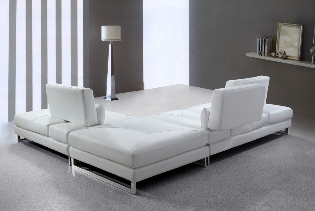 Modern White Leather Sleeper Sofa Modern White Leather So Many Choice Of Sleeper Sofa Sectional