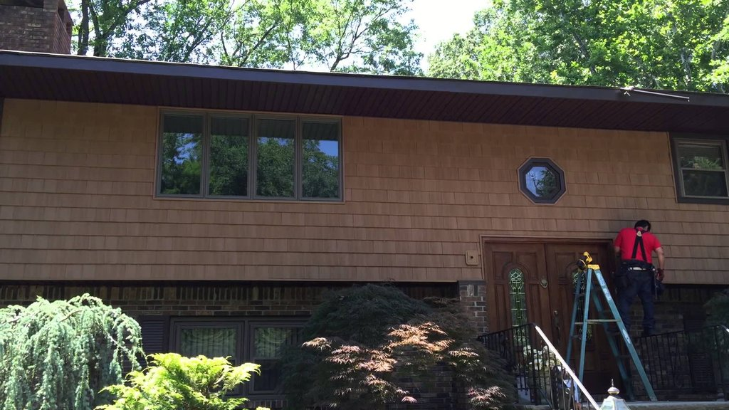 Morri County Vinyl Cedar Shake Siding Installation Wood Shake Siding Installation