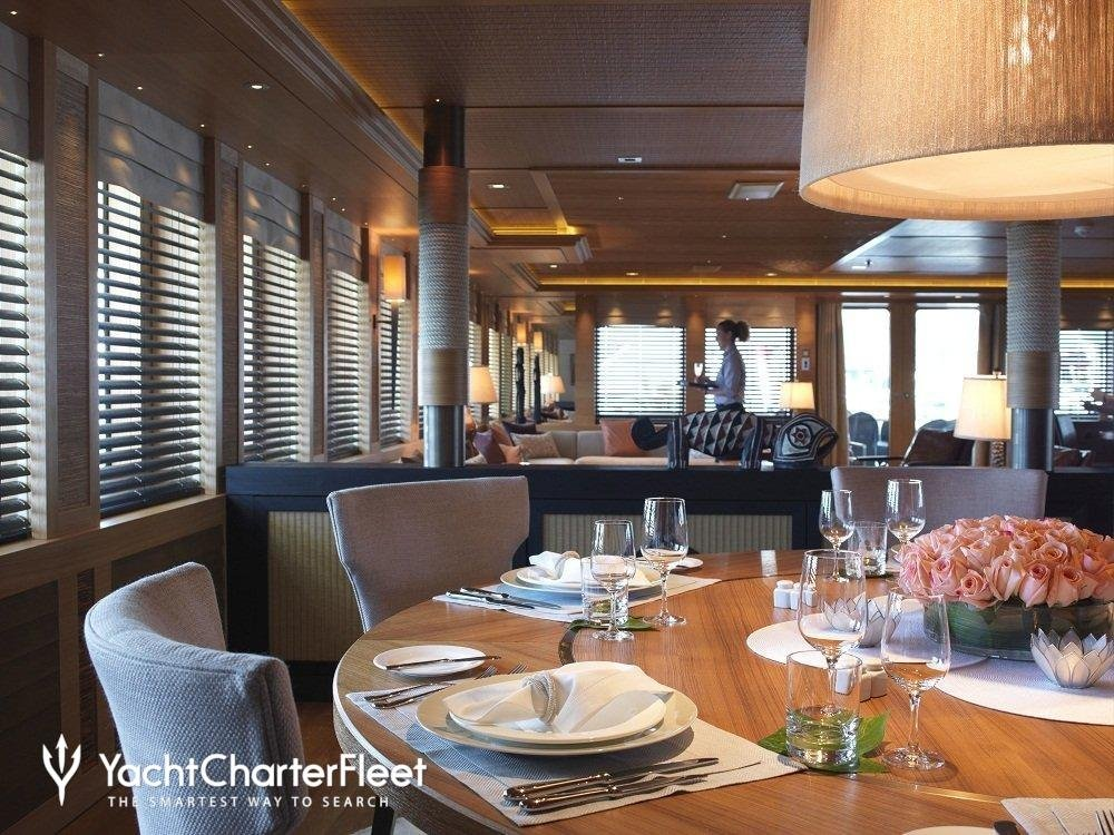 Naium Yacht Charter Price Pegaso Freire Shipyard Color Design For House Interior Dining Room