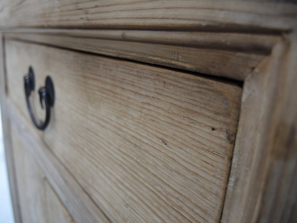 Natural Reclaimed Wood Medium Console Cabinet Sideboard Reclaimed Wood Media Console Table