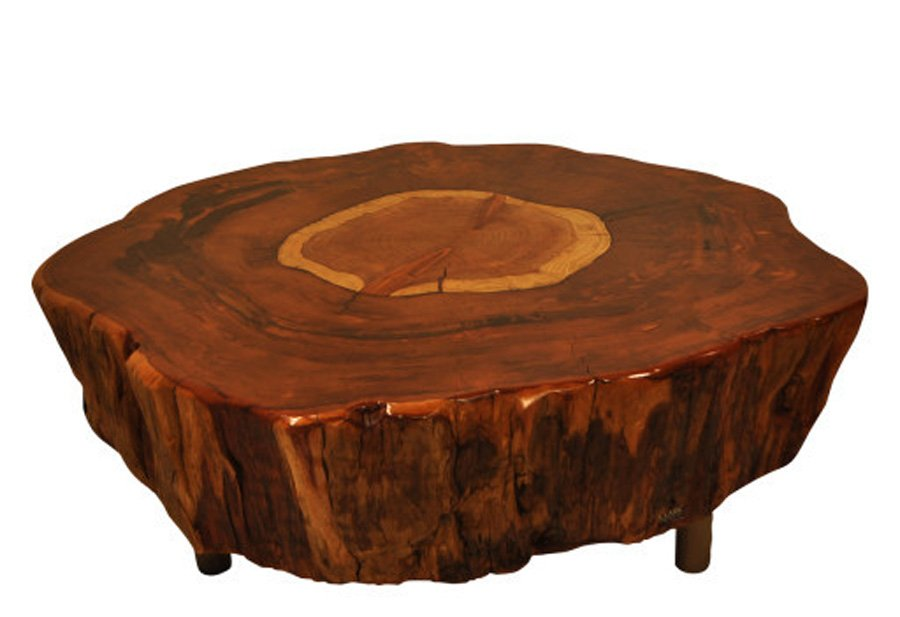 Natural Tree Stump Side Table Bring Nature Fragment Making Tree Stump Coffee Table