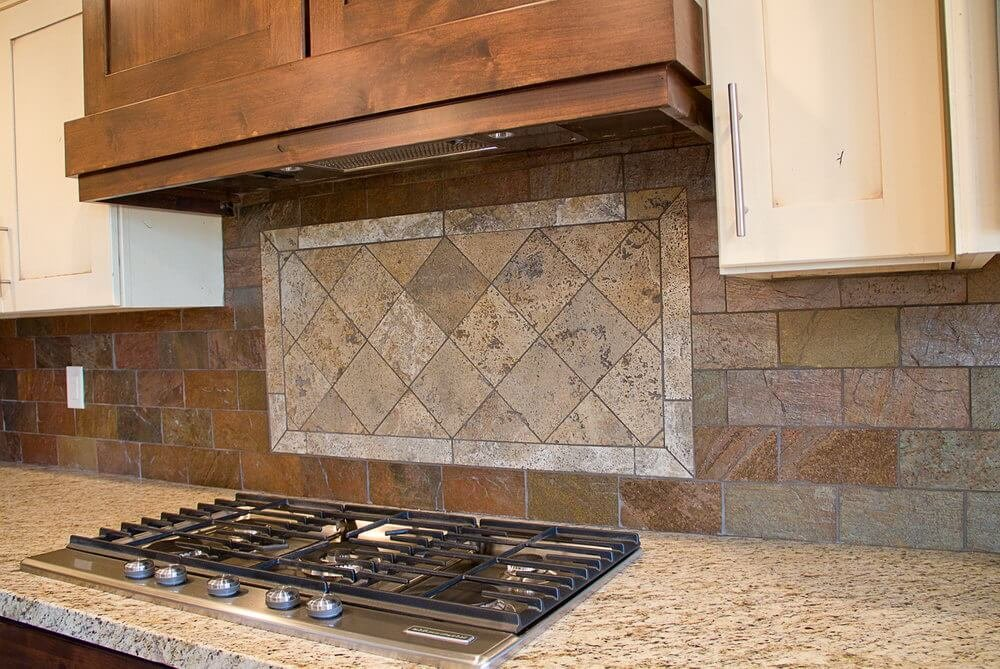 Neve Brick Smokey Grey Decorum Tile Kitchen Tile Color Faux Brick Flooring Finish