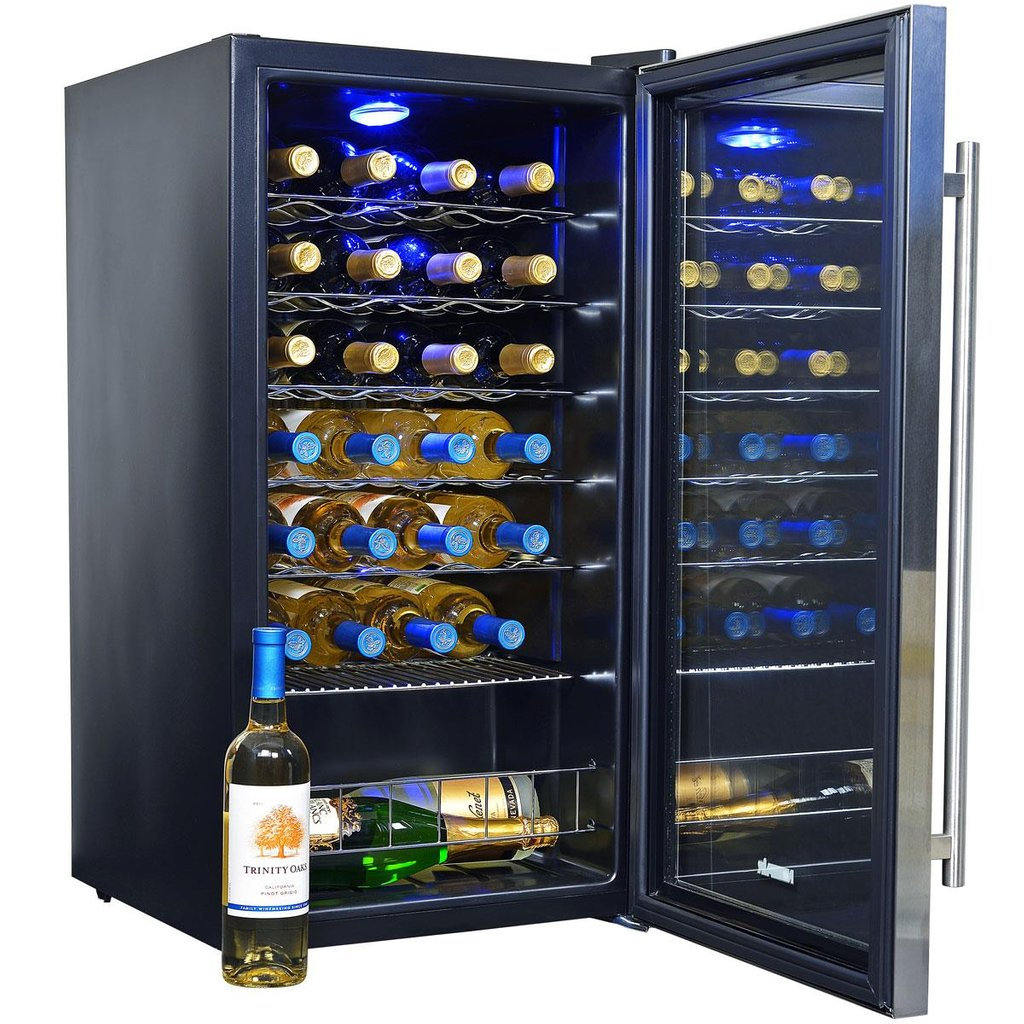 Newair Awc 270e 27 Bottle Wine Cooler Compressor How To Installing Wine Cooler Cabinet