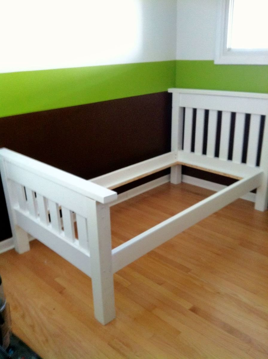Nokw Bunk Bed Plan Woodgear Info How To Build A Wood Twin Bed Frame