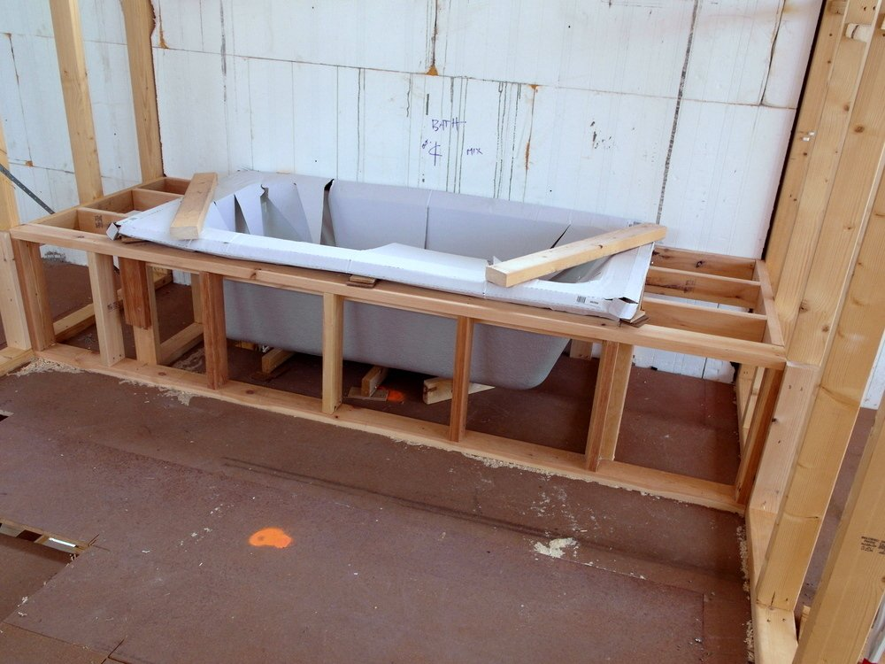 November 2012 Icf House Insulated Concrete Form How To Build A Wooden Bathtub Stool