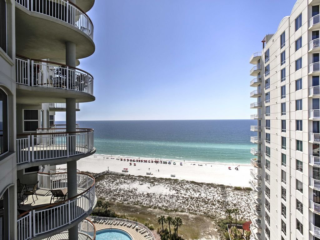 Ocean View Navarre Beach Condo Resort Pool Navarre Beach Pull Out Sofa Bed With Storage