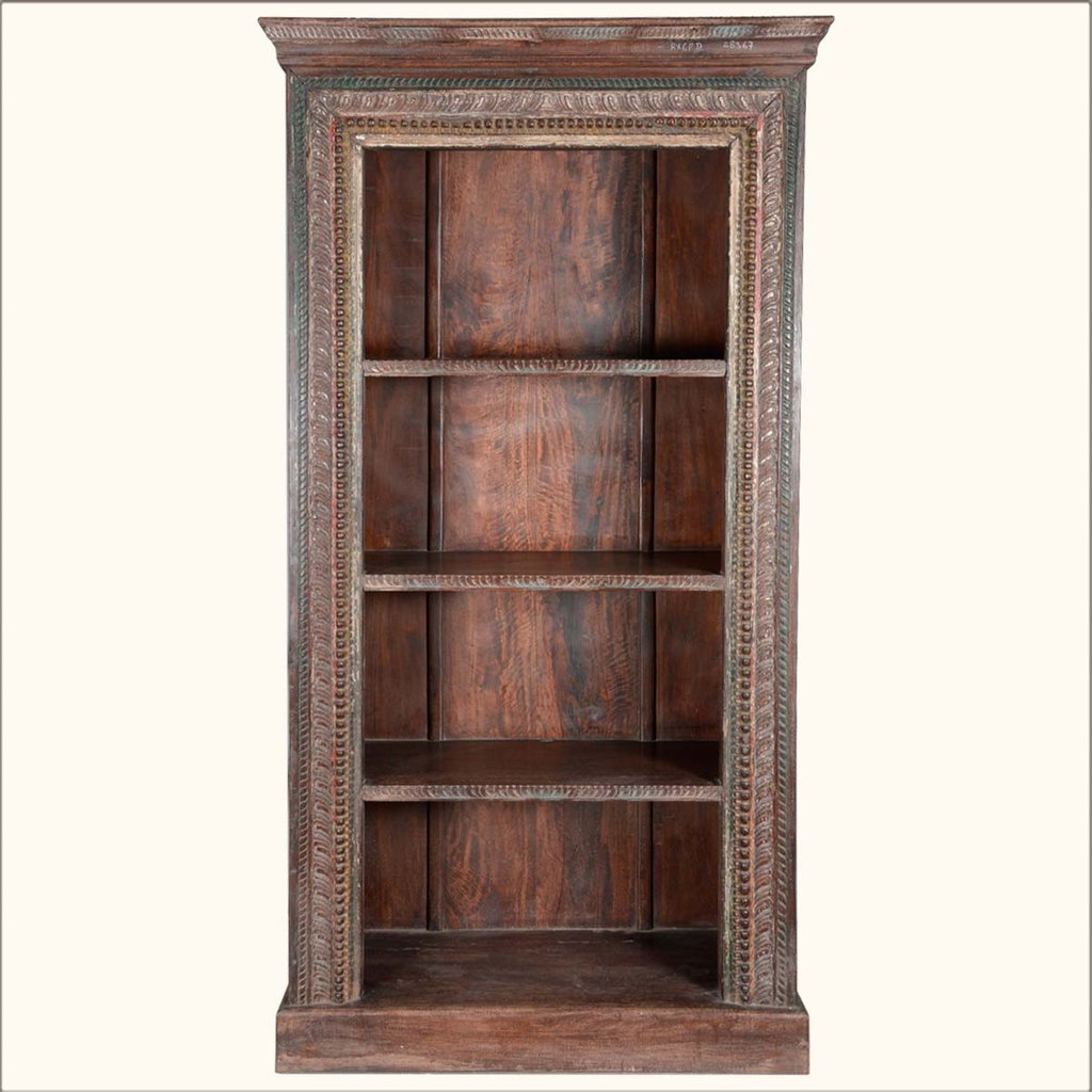 Open Shelf Bookcases Wood Shelf Bookcase Wood Paneling Makeover Remodel