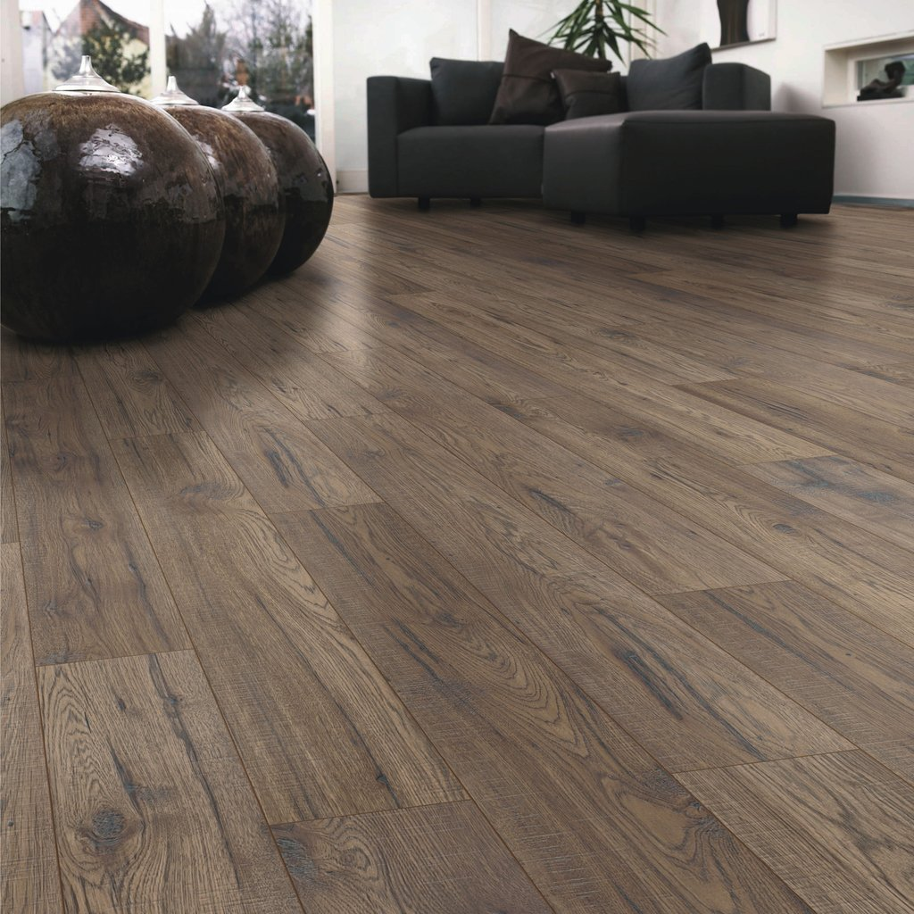 Ostend Natural Ascot Oak Effect Laminate Flooring Sample Tile Effect Laminate Flooring For Bathrooms