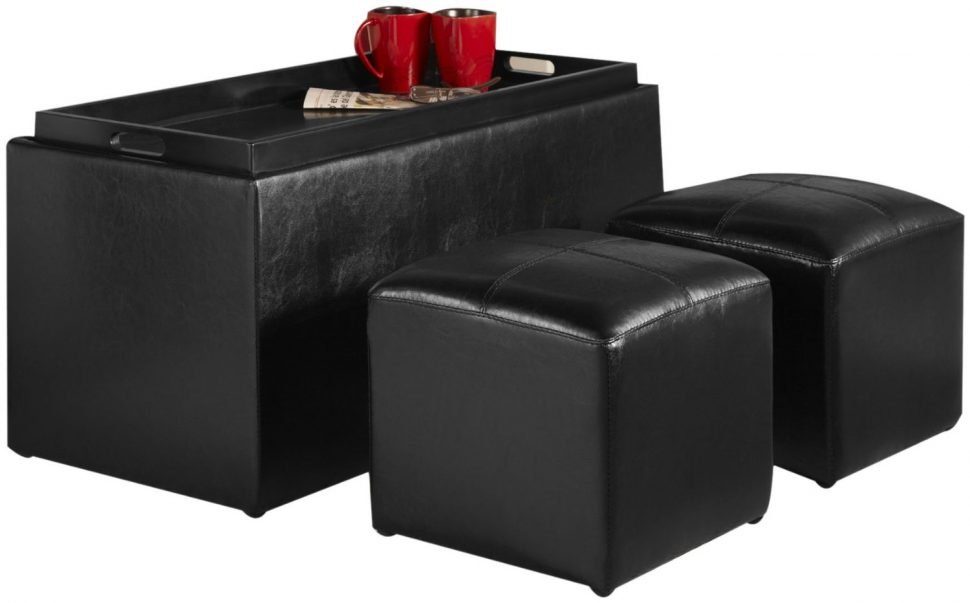 Ottoman Coffee Table Brown Leather Storage Ottoman Coffee How To Make Round Ottoman Coffee Table