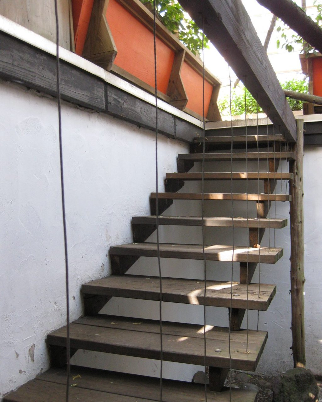 Outdoor Deck Stair Build Stair Railingbuilding Outdoor Wooden Spiral Staircase