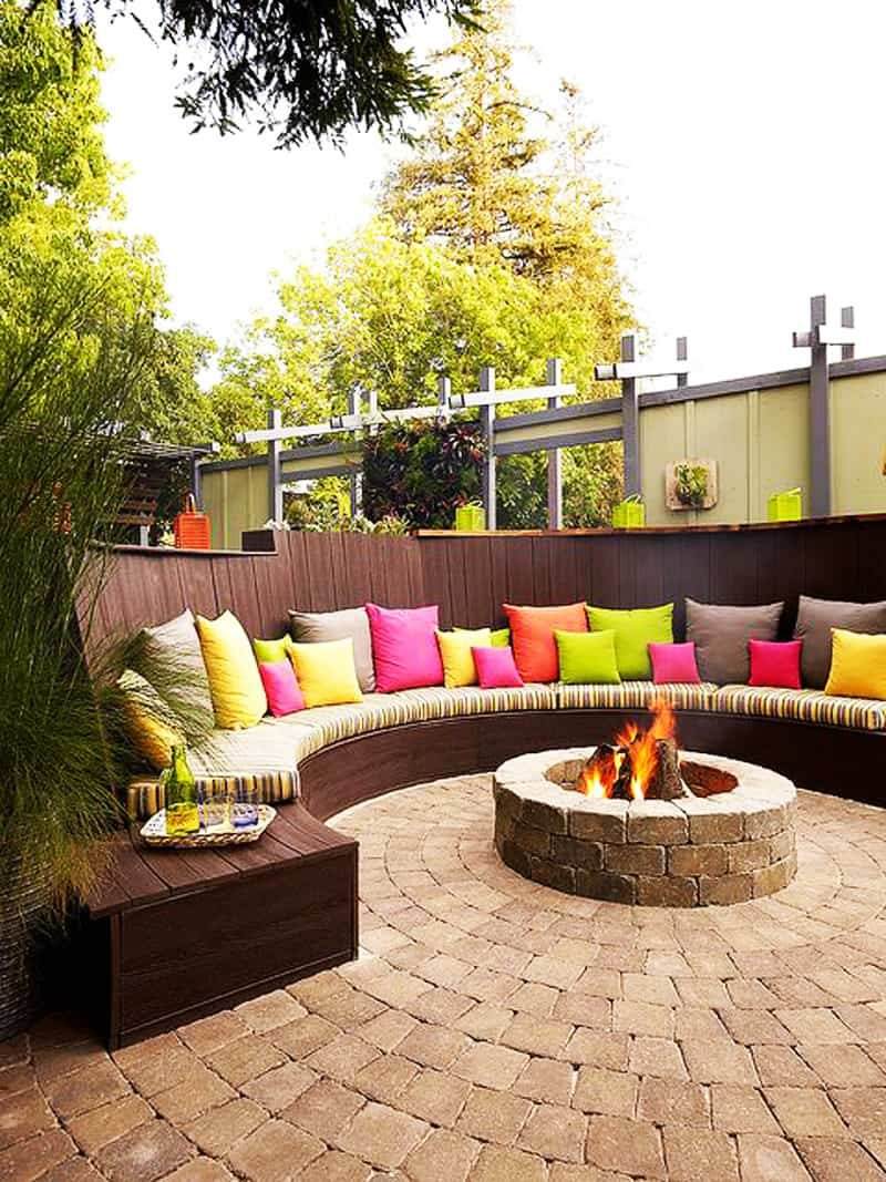 Outdoor Fire Pit Idea Ultimate Backyard Making Fire Pit Coffee Table