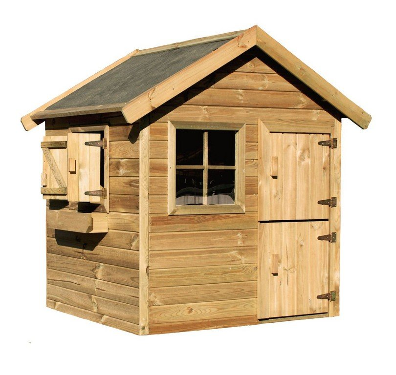 Outdoor Playhouse Kit Home Depot Outdoor Idea Outdoor Wooden Playhouse With Slide
