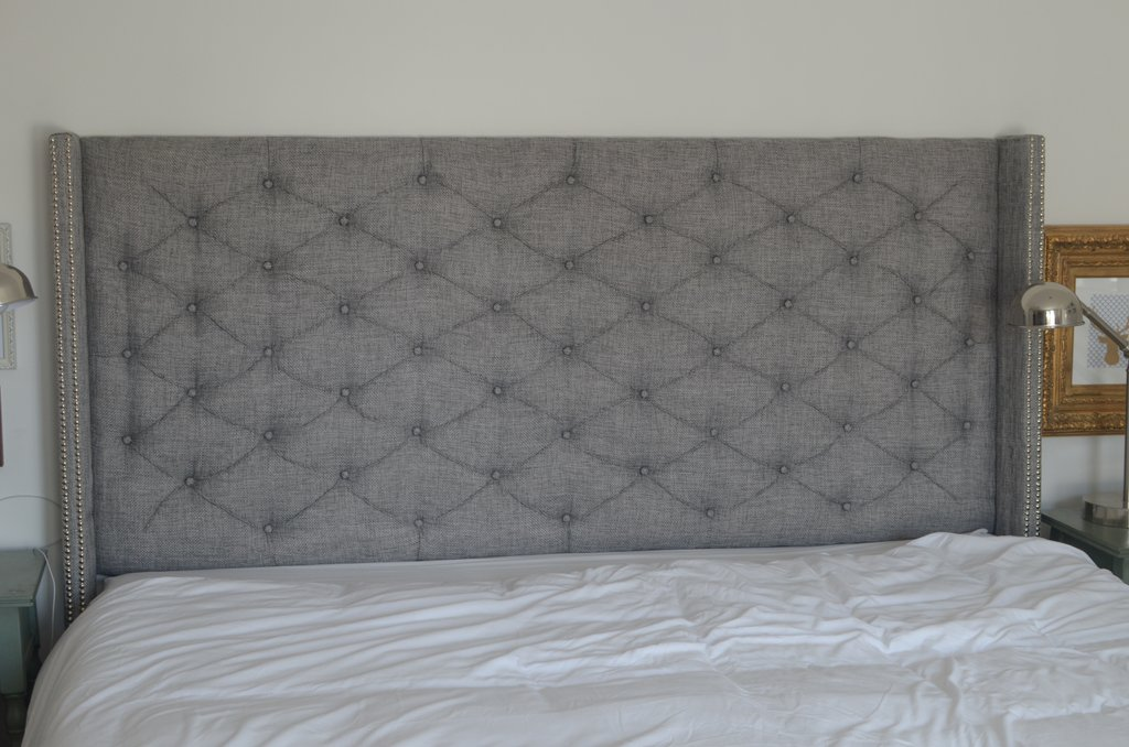 Padded King Size Headboard Harper Tufted Higharching Linen Upholstered Kingsize Headboard Guideline To DIY Tufted Headboard