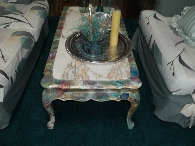 Painting Coffee Table Cool Marble Hand Painted Painted The Wicker End Tables