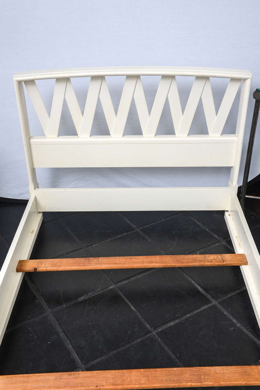 Pair Paul Frankl Bed 1stdib King Size Bed Frame With Headboard