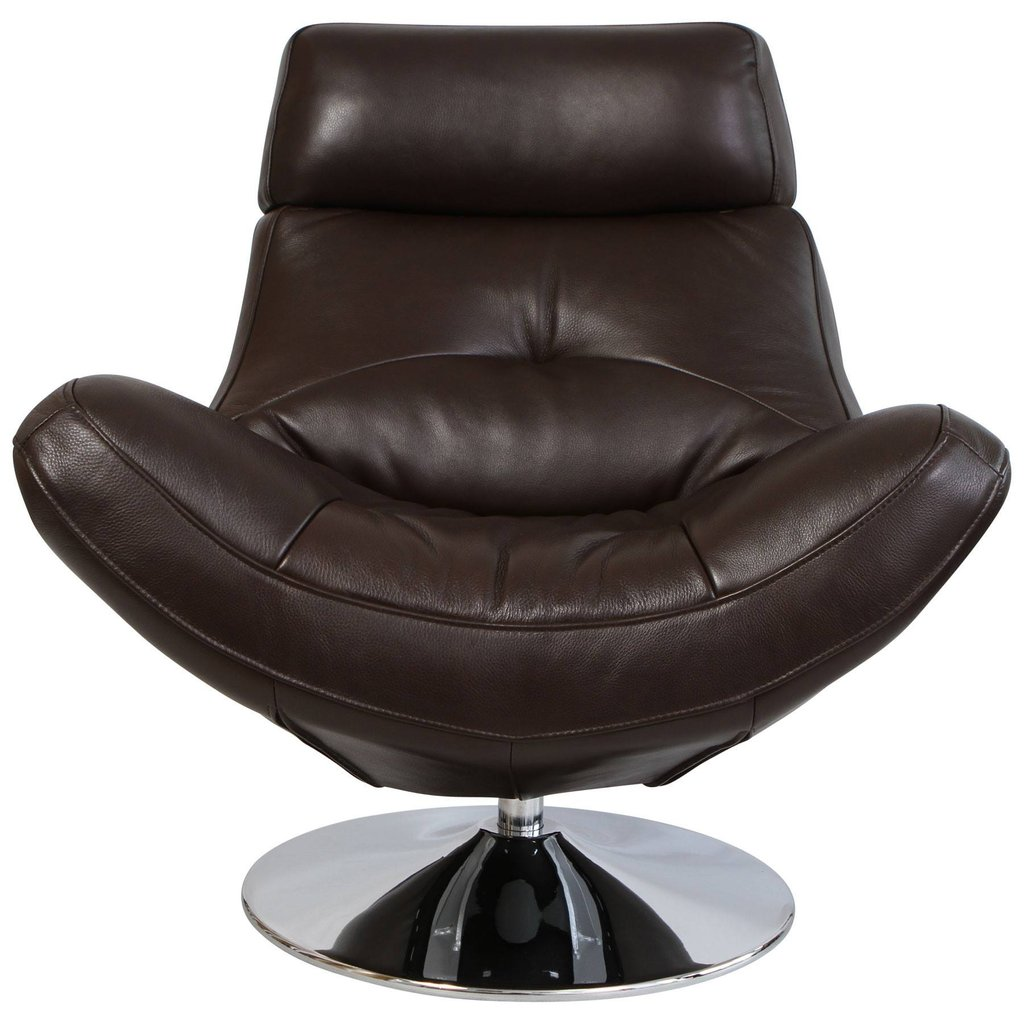 Paola Swivel Chair Brown Type Of Office Swivel Chair Design