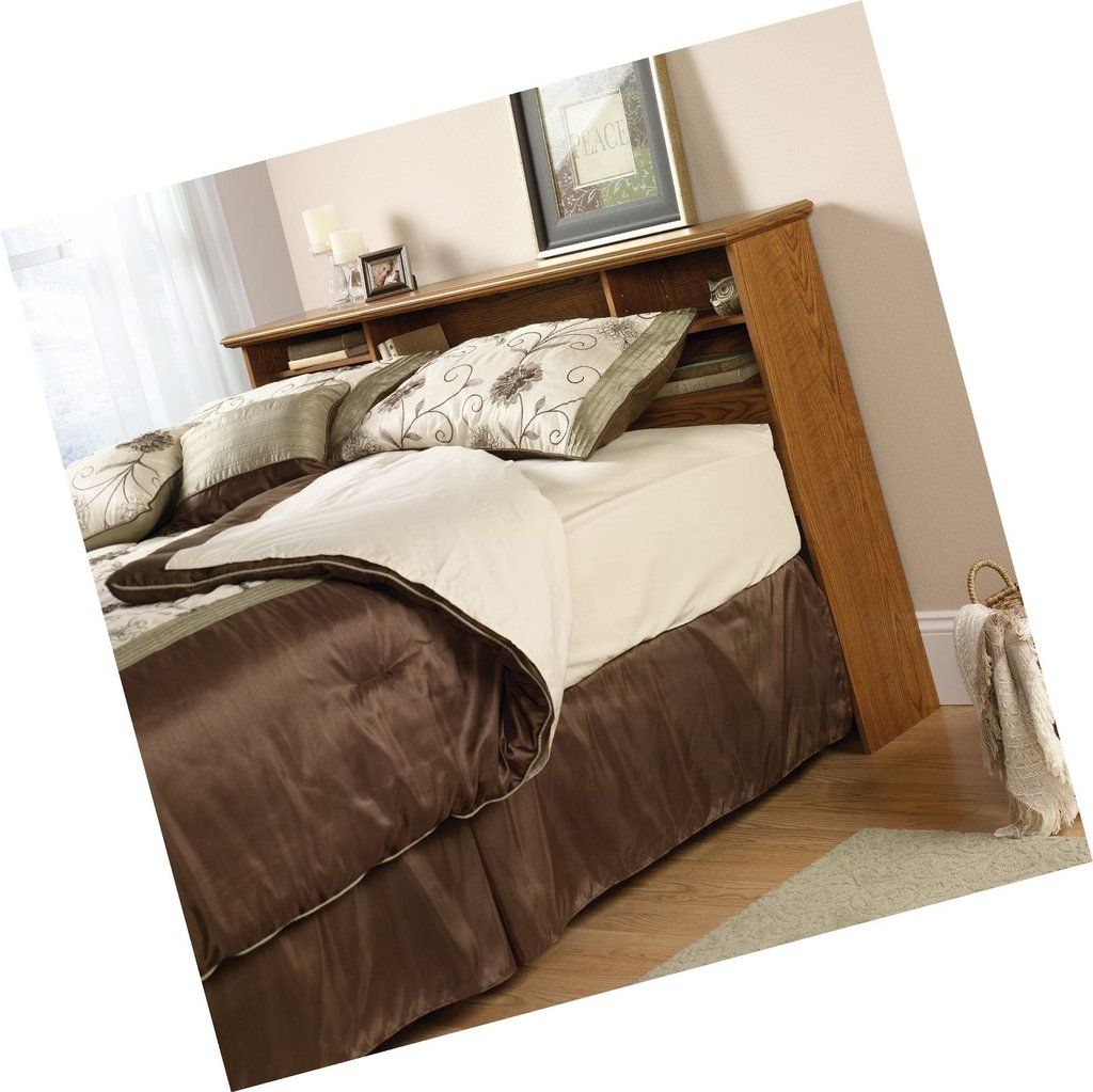 Partscomusa Quot Sauder Orchard Hill Bookcase Headboard How To Make An Bookcase Headboard