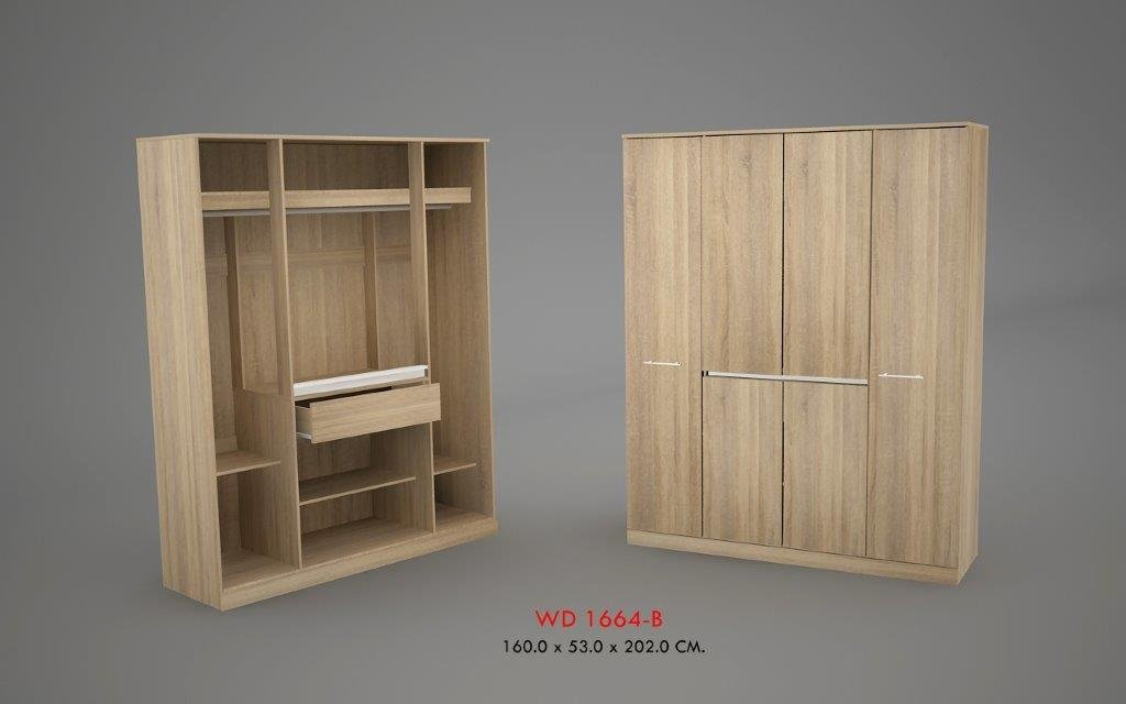 Phoenix 4 Door Wardrobe Index Furniture How Make Rolling File Cabinet