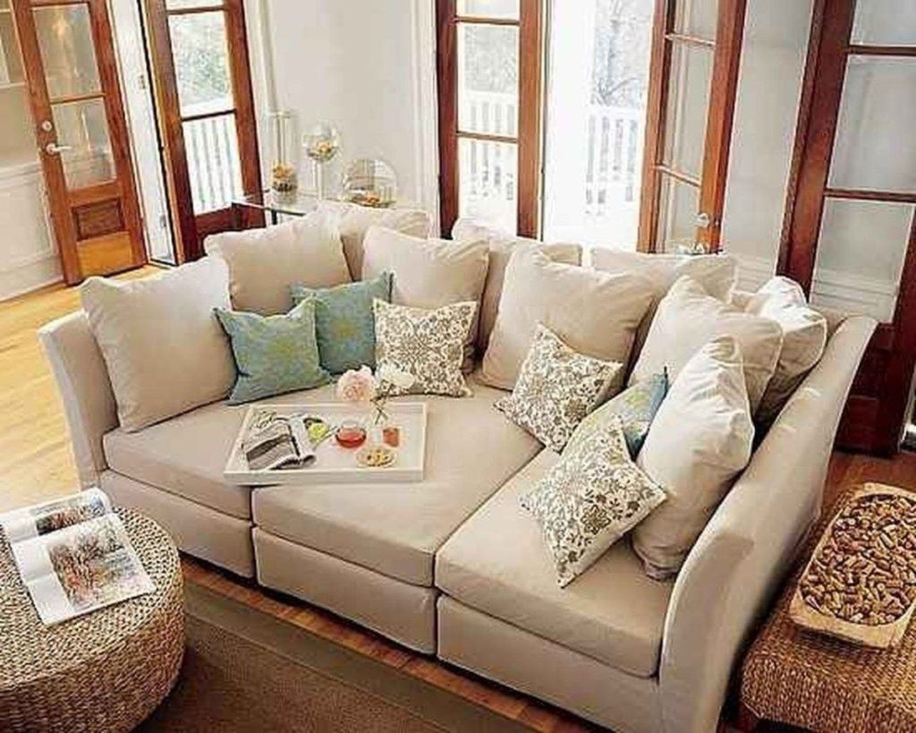 Photo Gallery Deep Seating Sectional Sofa Showing 14 Deep Sectional Sofas Living Room Furniture