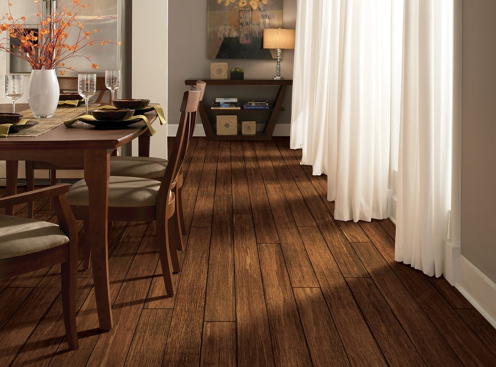 Photo Gallery Natural Bamboo Usfloor How To Install Floating Bamboo Flooring
