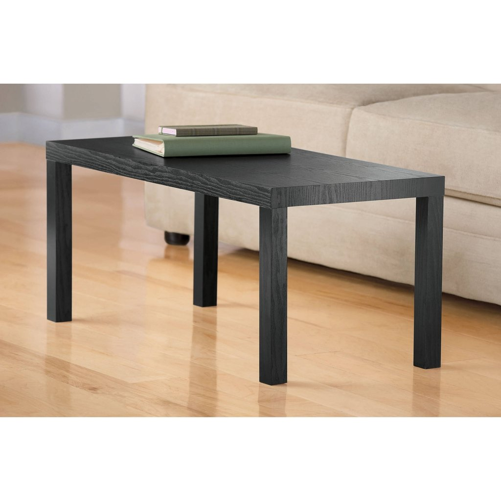 Photo Sauder Beginning Collection Coffee Table Black Decorate A Leather Ottoman Coffee Table
