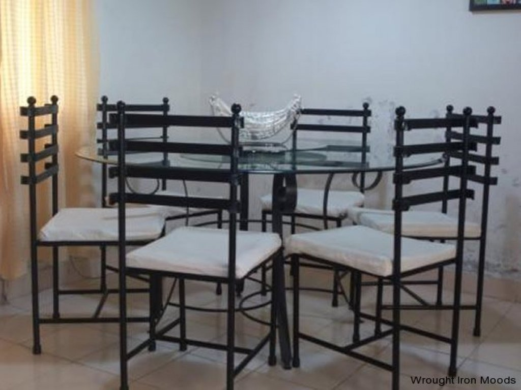 Picture Dining Chairs Wrought Iron Dining Set Making An Wrought Iron Headboard